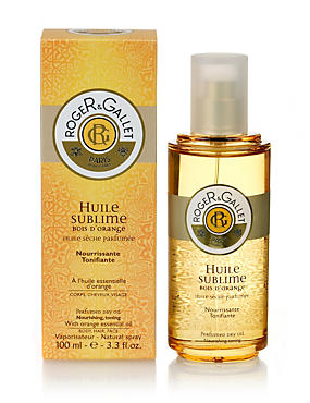 Bois d'Orange Huile Sublime Dry Oil Spray 100ml