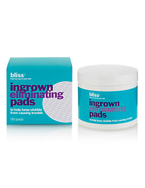 Ingrown Hair Eliminating Peeling Pads (Box of 50)