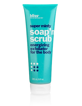 Super Minty Soap 'n' Scrub Energizing Exfoliator 240ml Home