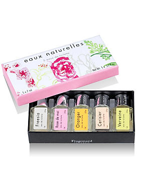 Naturelles Eau De Toilette Minitatures Gift Set