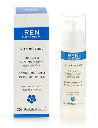 Vita Mineral Omega 3 Supreme Skin Face Oil 30ml Home