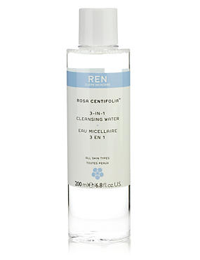 Rosa Centifolia 3-In-1 Cleansing Water 200ml