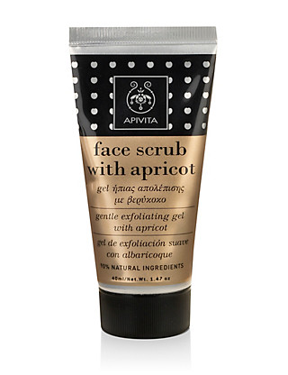 Face Scrub with Apricot 40ml Home