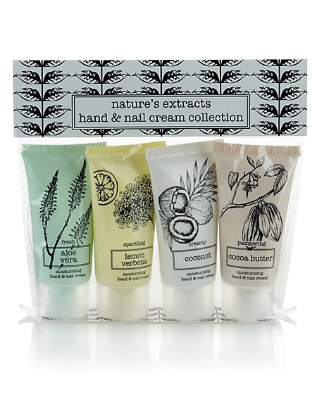 Hand & Nail Cream Collection Gift Set