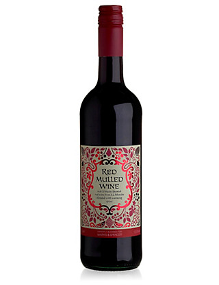 Aromatic Red Mulled Wine - Case of 6 Wine