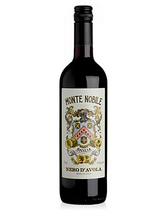 Monte Nobile Nero D'Avola - Case of 6 Wine