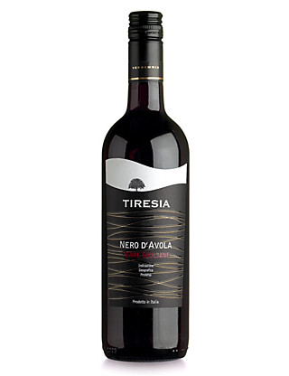 Tiresia Nero D'avola, Terre Siciliane - Case of 6 Wine