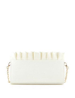 Frill Trim Clutch Bag Clothing