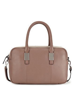 Leather Bowler Bag Clothing