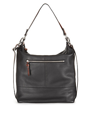 Leather Double Strap Hobo Bag Clothing