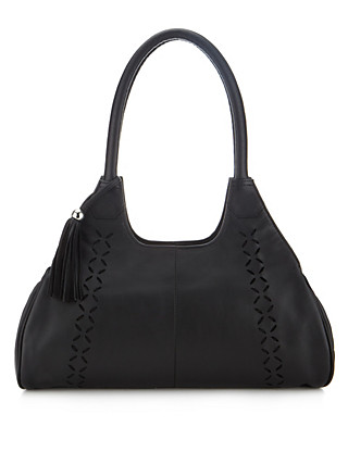 Leather Cut-Out Apron Bag Clothing