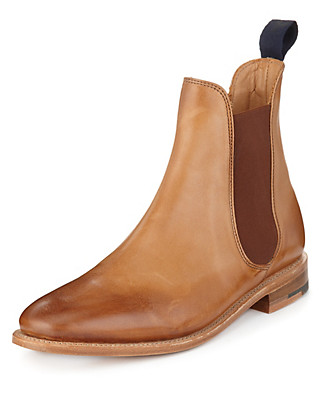 Best of British Leather Chelsea Boots Clothing