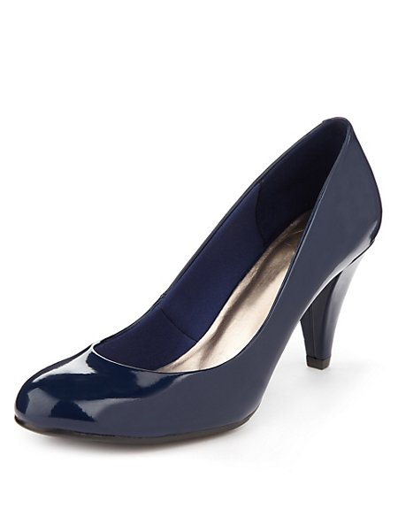 High Heel Court Shoes with Insolia®