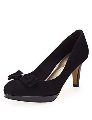 Stiletto Heel Platform Court Shoes with Insolia® Clothing
