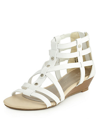 Open Toe Gladiator Sandals with Insolia Flex® Clothing