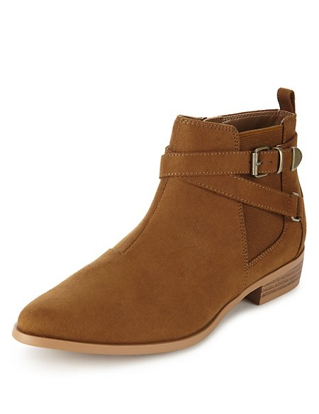 Strap Chelsea Ankle Boots with Insolia Flex®