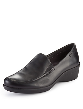 Leather Slip-On Shoes Clothing