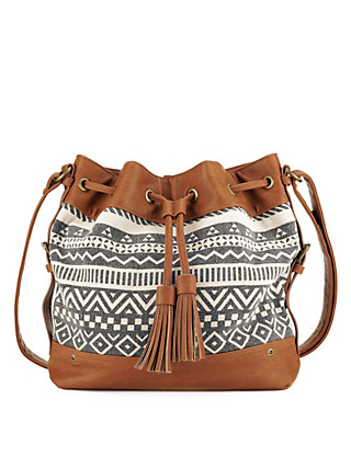 Aztec Print Duffle Bag Clothing