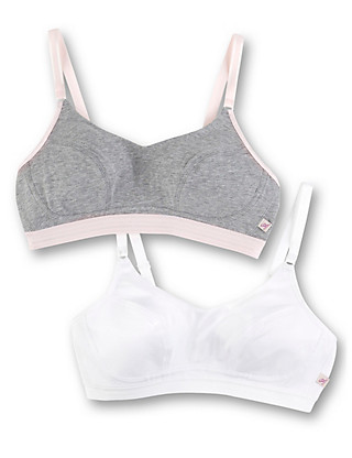 2 Pack Non-Padded Non-Wired Sports Bras Clothing