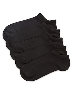 Supersoft Trainer Liner™ Socks 5 Pair Pack