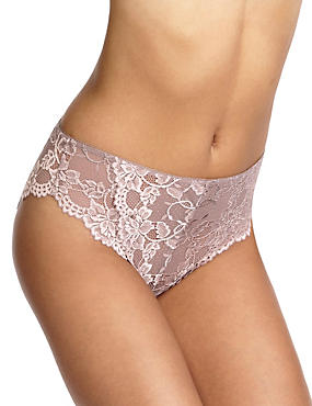 All Over Lace High Rise High Leg Knickers