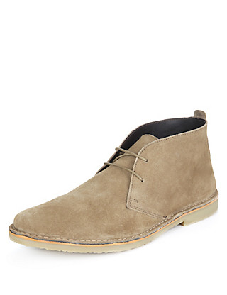 Suede Desert Boots Clothing