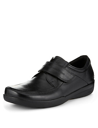 Airflex™ Leather Extra Wide Fit Riptape Shoes Clothing