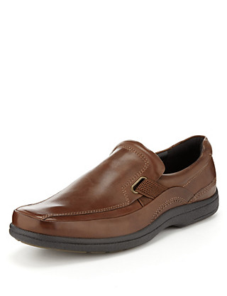 Airflex™ Leather Slip-On Shoes Clothing