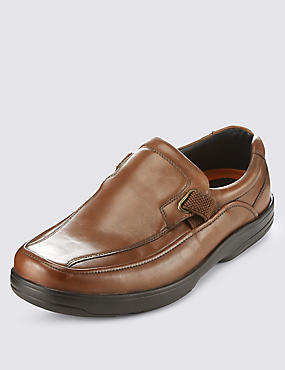 Airflex™ Leather Extra Wide Fit Slip-On Shoes