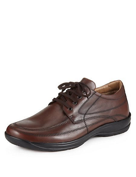 Airflex™ Leather Lace Up Shoes
