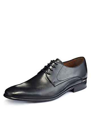Leather Lace Up Gibson Shoes Clothing