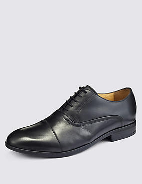 Leather Oxford Shoes with Airflex™