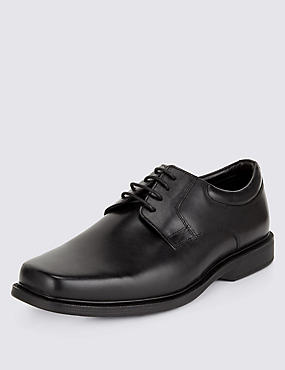 Airflex™ Leather Extra Wide Lace Up Shoes