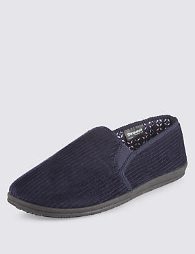 Thinsulate™ Freshfeet™ Corduroy Slippers