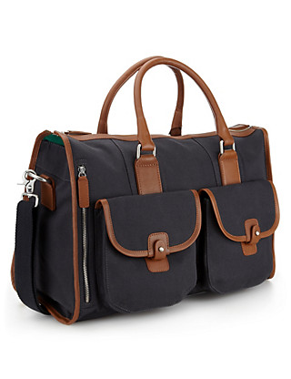 Cotton Rich Canvas Holdall Clothing
