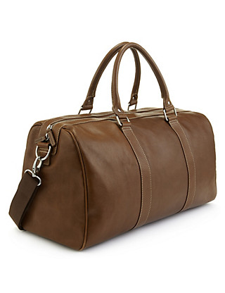 Leather Holdall Clothing