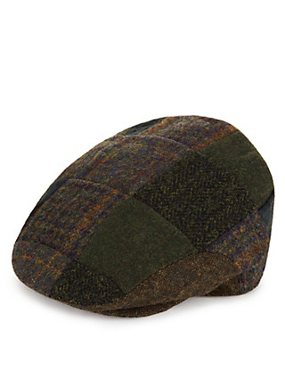 Patchwork Flat Cap with Stormwear™ & Thinsulate™ Clothing