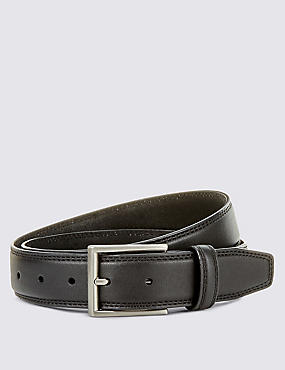 Double Edge Stitched Belt