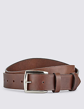 Leather Double Keeper Belt