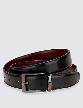 Gunmetal Reversible Belt