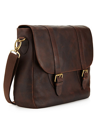 Leather Saddle Dispatch Bag Clothing