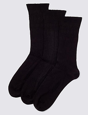 3 Pairs of Freshfeet™ Easy Grip Thermal Socks