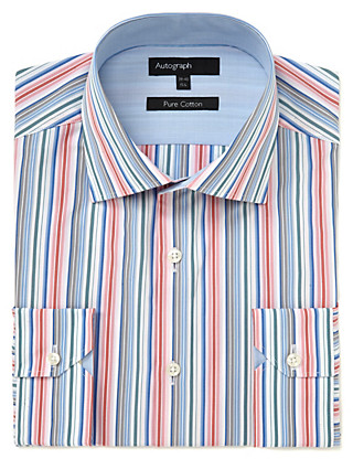 Supima® Pure Cotton Striped Shirt Clothing