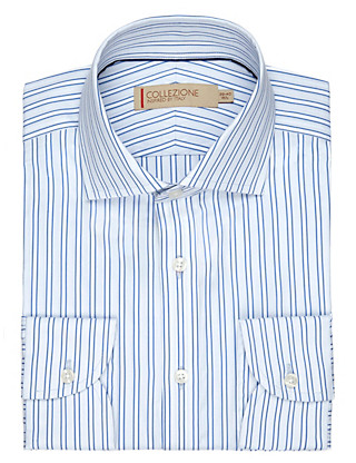 Pure Cotton Striped Shirt Clothing