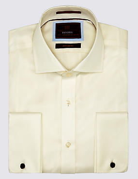 Pure Cotton Non-Iron Twill Shirt