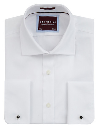 2in Longer Pure Cotton Shirt Clothing