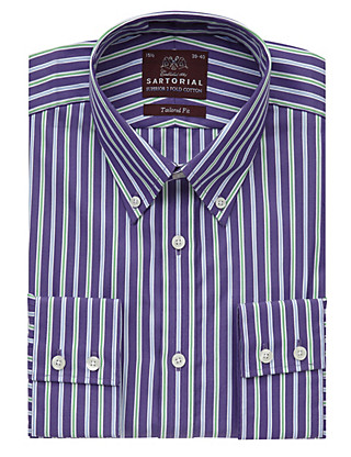 Pure Cotton Bengal Striped Shirt Clothing