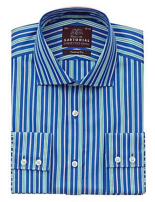 Pure Cotton Multi-Striped Shirt Clothing