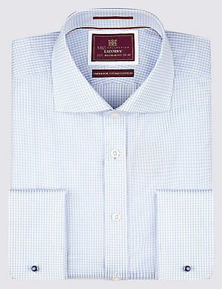 Pure Cotton Checked Shirt Clothing