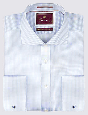 Pure Cotton Classic Gingham Shirt